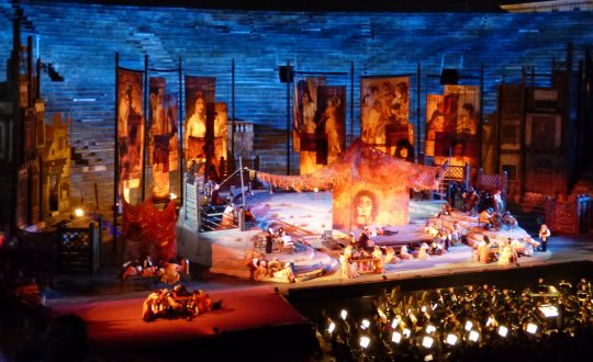 Dagtripje: naar de opera in Verona