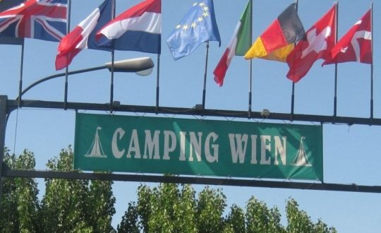 In de spotlights: Camping Wien!
