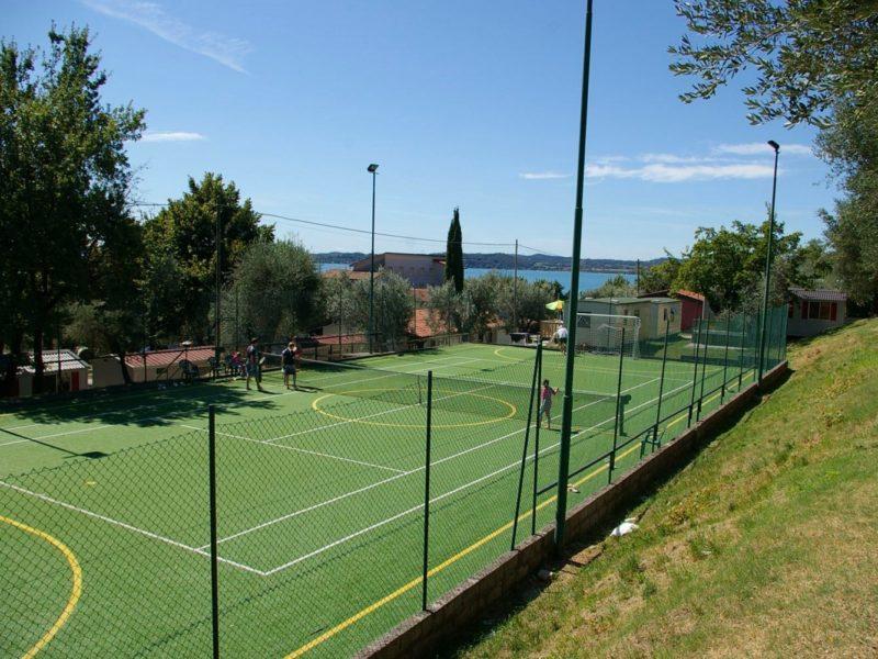 Camping Fontanelle tennisbaan