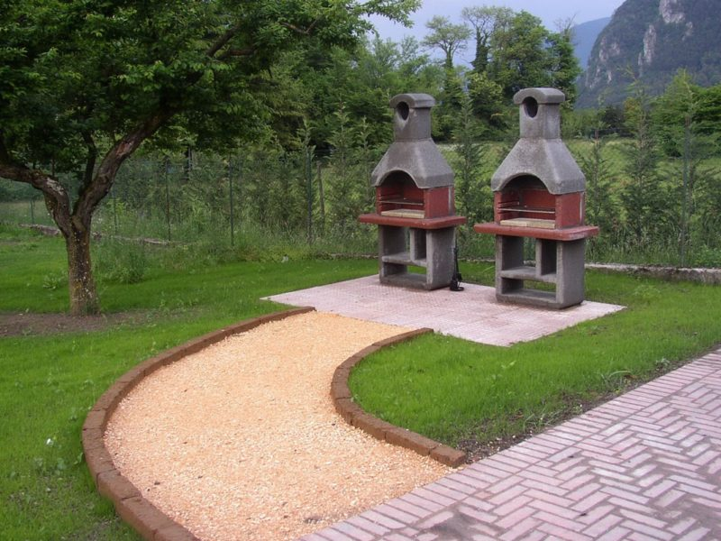 Residence Vico barbecue
