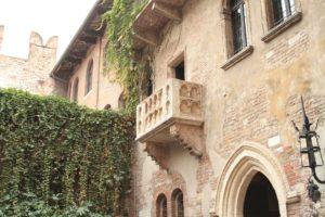 Juliets balkon in Verona