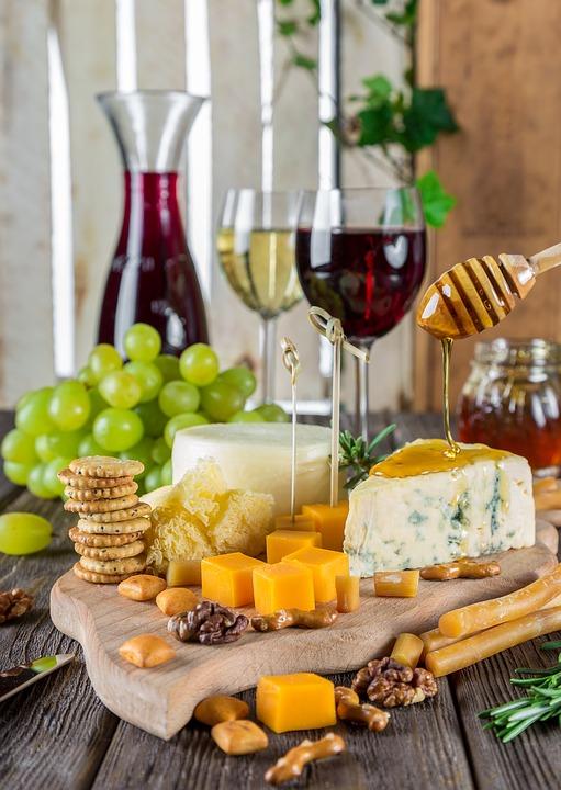snackplaat wijn - wijnroutes aan het Gardameer