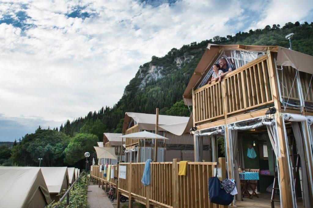 Airlodges van camping La Rocca