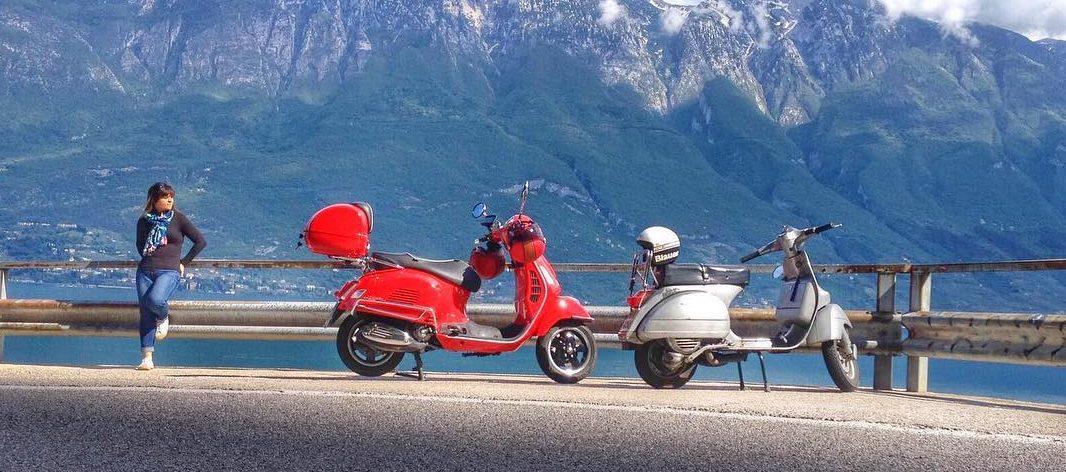 Gardameer - Motoragazzi - vier meren tour Italië