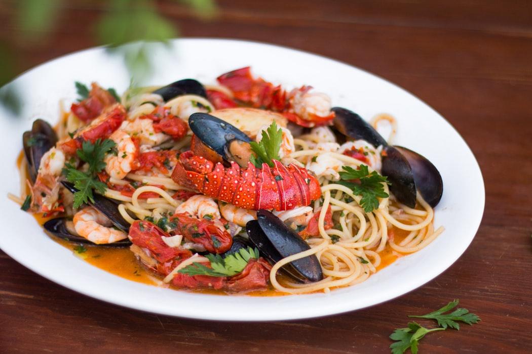 culinaire gerechten aan het Gardameer