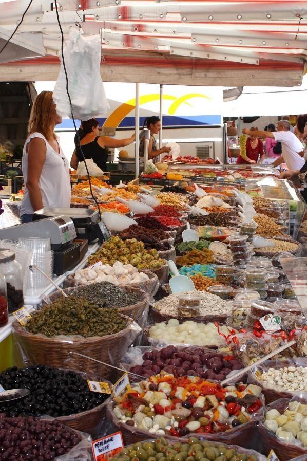 Marktkraam - Italiaanse markt van Bardolino