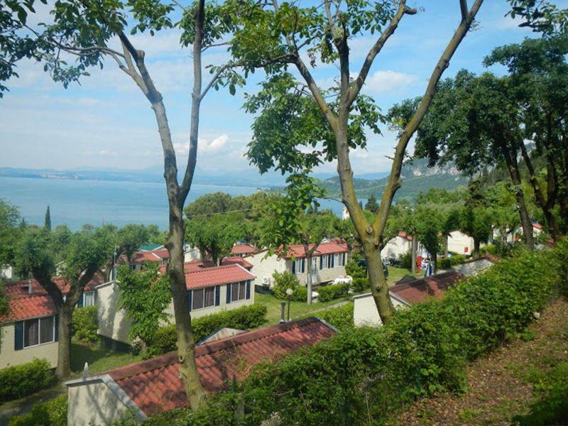 La Rocca nazomeren aan het Gardameer